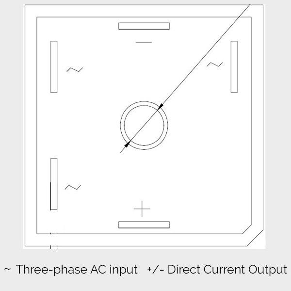 m36 pont diode redresseur triphas monophas 50a makemu. Black Bedroom Furniture Sets. Home Design Ideas
